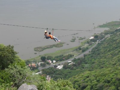 Ribera Chapala excursion, zip line and archery