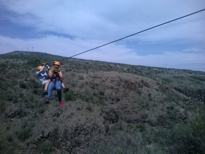 Circuit 7 zip-lines and suspension bridge SMA