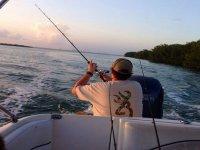 pescadores de vacaciones