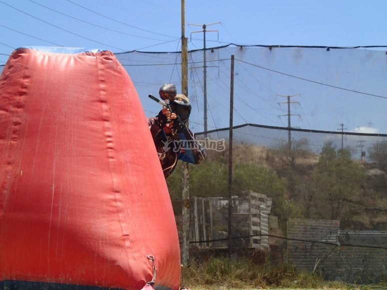 Paintball challenge