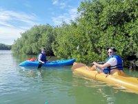Relizando kayak