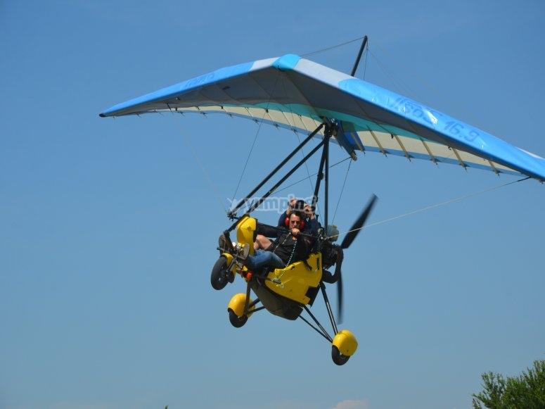Acrobatics in the sky