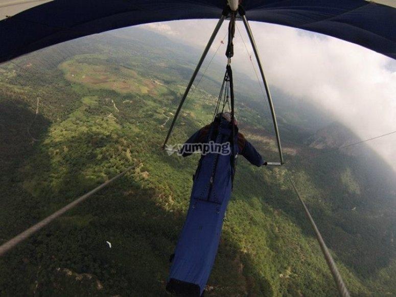 volando en valle