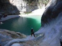 Canyoning in Monterrey