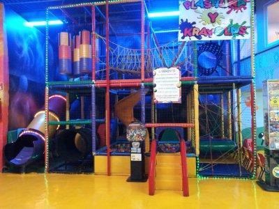 Kids' party in La Nápoles