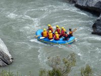 enjoy the experience of rafting