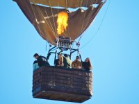 Fly in a balloon over the Valle de Guadalupe