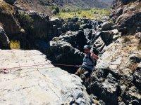 Rappel through areas of Baja California