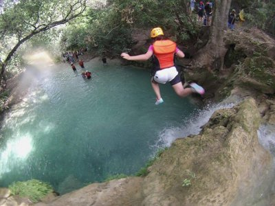 Canyoning and meal near Cuernavaca