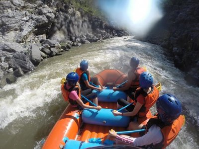 2 days adventure, rafting and canyoning. Cuerna.
