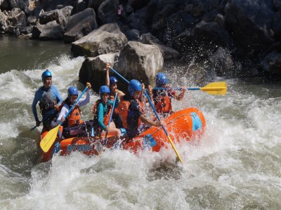 Rafting and 1 night camping near Mexico City
