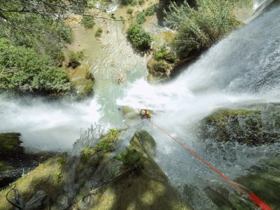 Canyoning and rafting in River Amacuzac 2 days