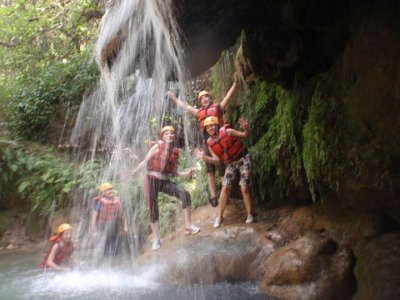 Canyoning and caving 2 days in Cuernavaca camp