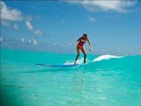 olas en el caribe