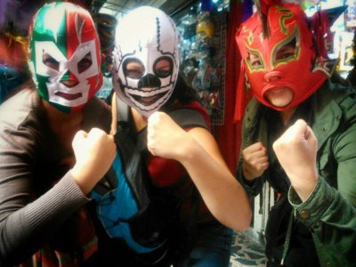 Thematic tour of Cantinas and Lucha Libre del DF