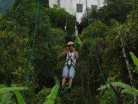 Zipline in the reserve