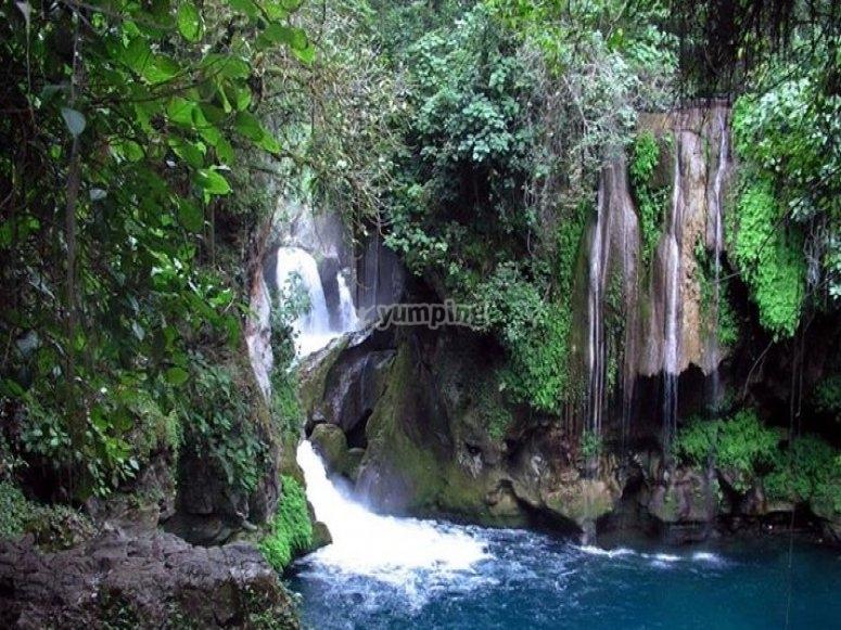 cascadas huasteca