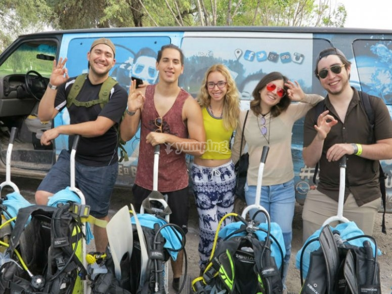 Obtain your International Diving Certification in the company of your friends