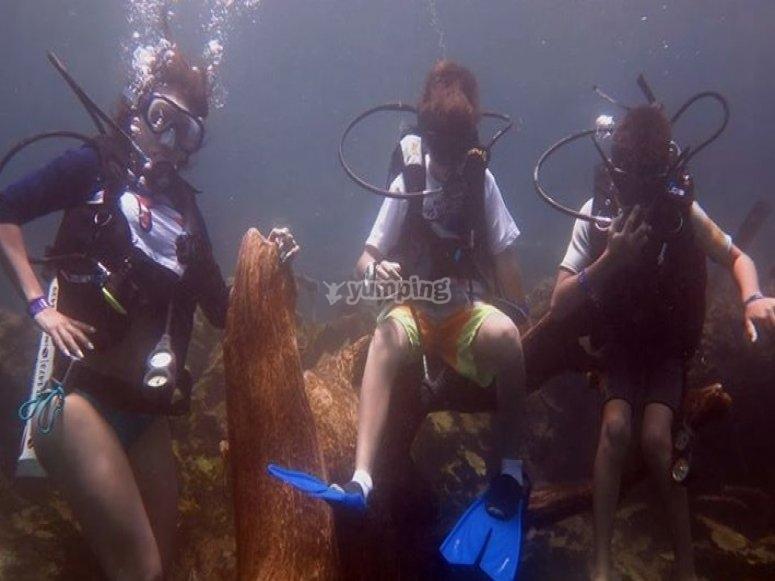 practicas de open water