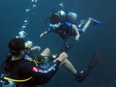 Open Water certificate in Media Luna for 3 days