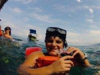 Tour de snorkel para niños a Los Arcos en barco