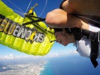 Free fall on Playa del Carmen