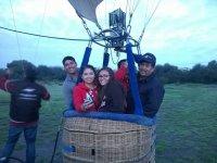Vuelo en globo en San Miguel de Allende 1 hora