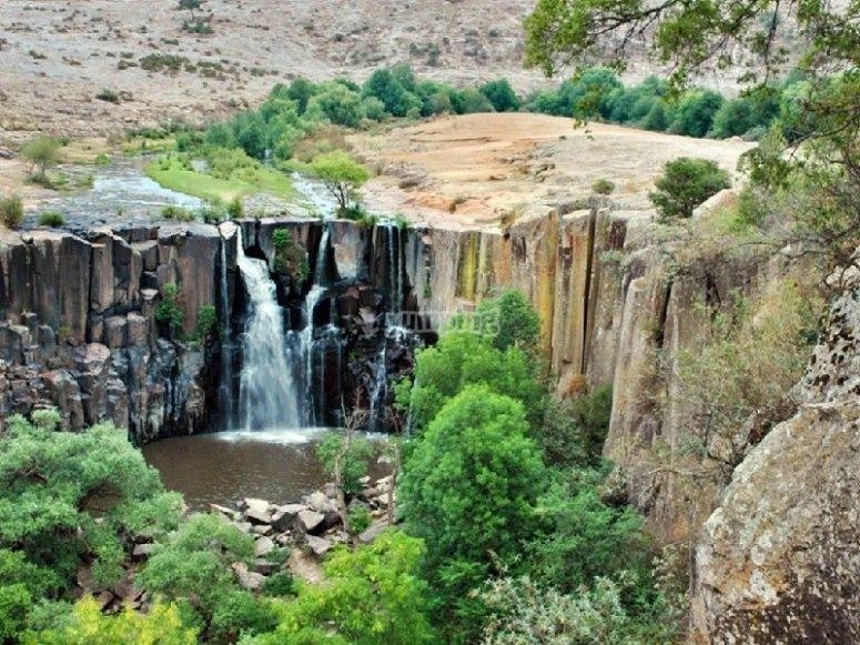 Aculco waterfall