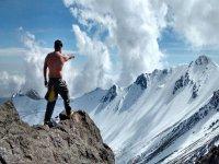 High mountain hike to Nevado de Toluca