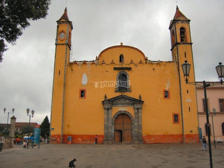 Iglesia de Zacatlán