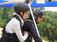 Delta wing flight with children