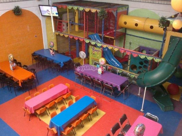 Lugar para eventos infantiles