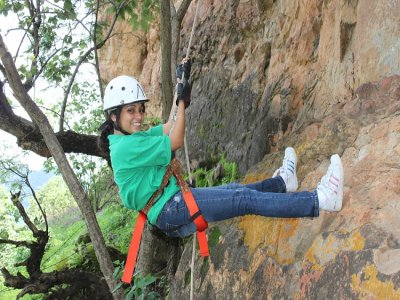 60 meters Rappel in Malinalco