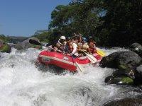 Adventurous rafting