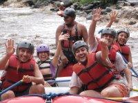 Fun rafting