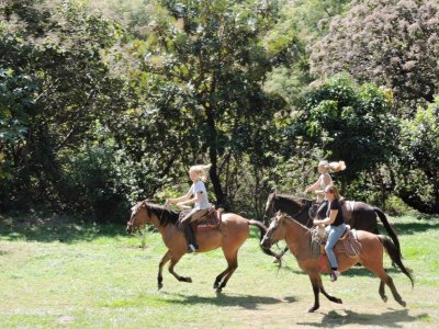 Horse back ride at the Ecotourism Center