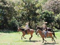 Ruta a caballo en Centro Ecoturístico de Malinalco