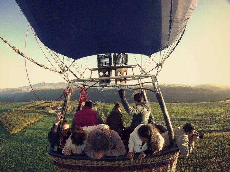 vuelos en globo aerostático