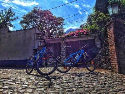 Ruta bicicleta por Complejo en Malinalco