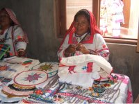 Hand embroidered by the Huichol