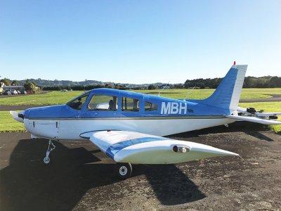 Light aircraft flight in México valley 30 minutes