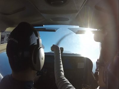 Flight for 2 in a Light Aircraft Over Mexico