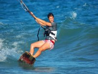 surf with the kitesurfing