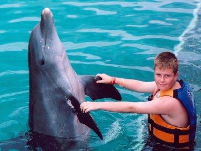Swim Adventure program in Riviera Maya