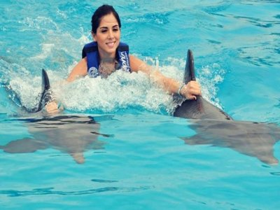 Access to Aquaventuras Park and dolphin swim