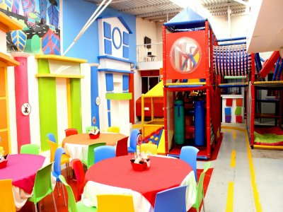 Kids' party VIP for 80 people