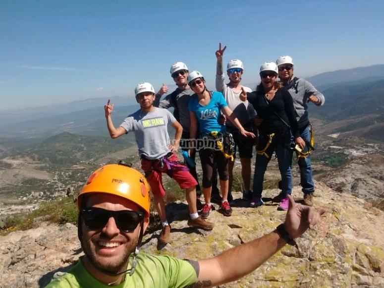 Vive la aventura de llegar a la cima