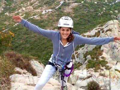 5 hours climbing + rappel, Pena de Bernal