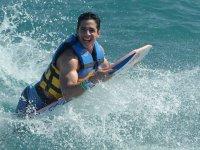 adrenalina en el agua