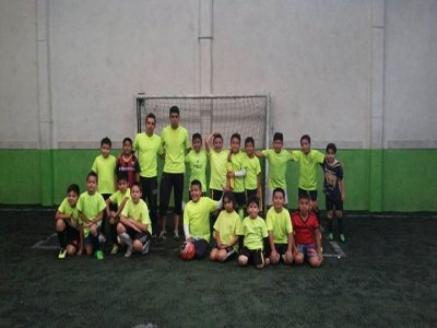 Football course for kids